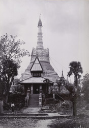 East view of the Shwekugale Pagoda, [Pegu].